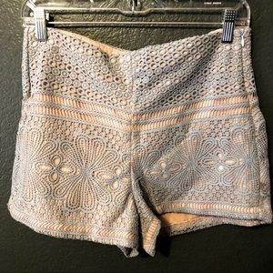 English Factory lace shorts, M
